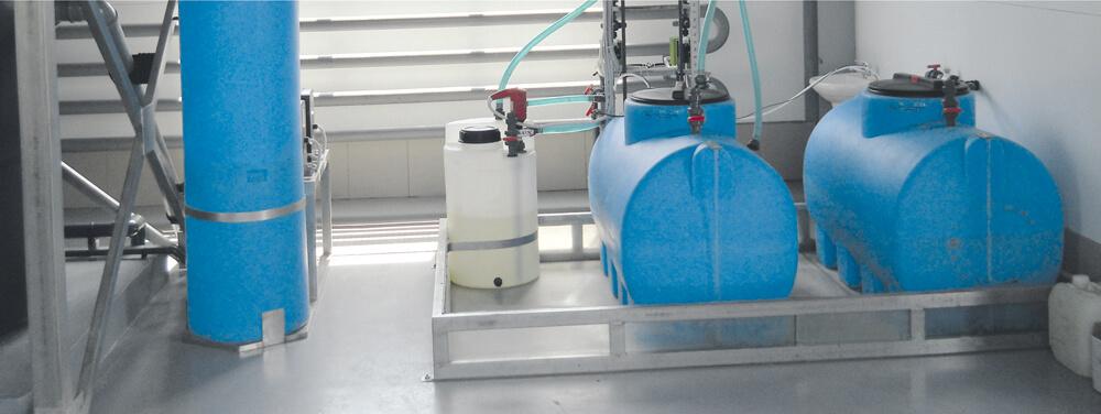 Пластиковые емкости на 750 л (МН 750 ВФК2) , на 390 л (410 1ВФК2) и на 60 л (ДК 60 ) , для системы водоподготовки пищевого производства