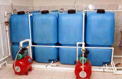 Топлмвные емкости на 1000 л (Т 1000 КЗ) , для подключения к котлу отопления