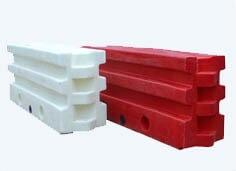 Ограждения барьерного типа из пластмасс (РС120-Д) 1