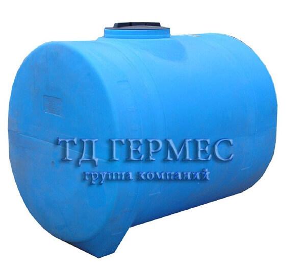 Пластиковая емкость 2000 л горизонтальная (2000ВФК3) 1