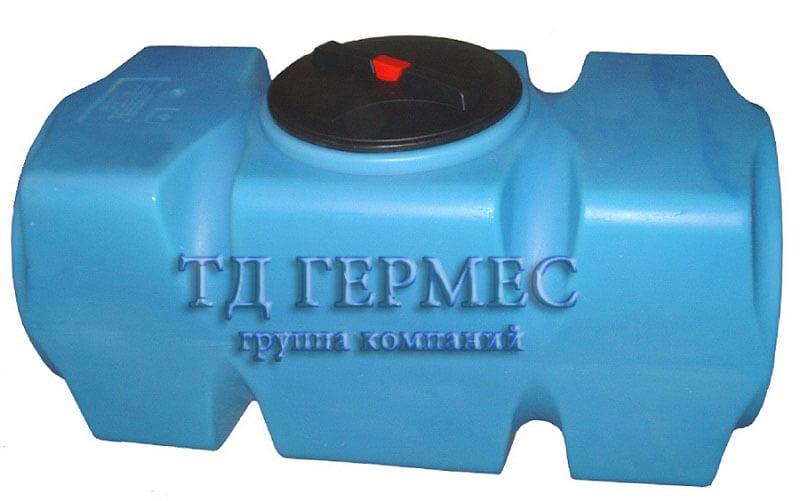 Емкость, бак для воды 500 л горизонтальный (Т500ГФК23) 1