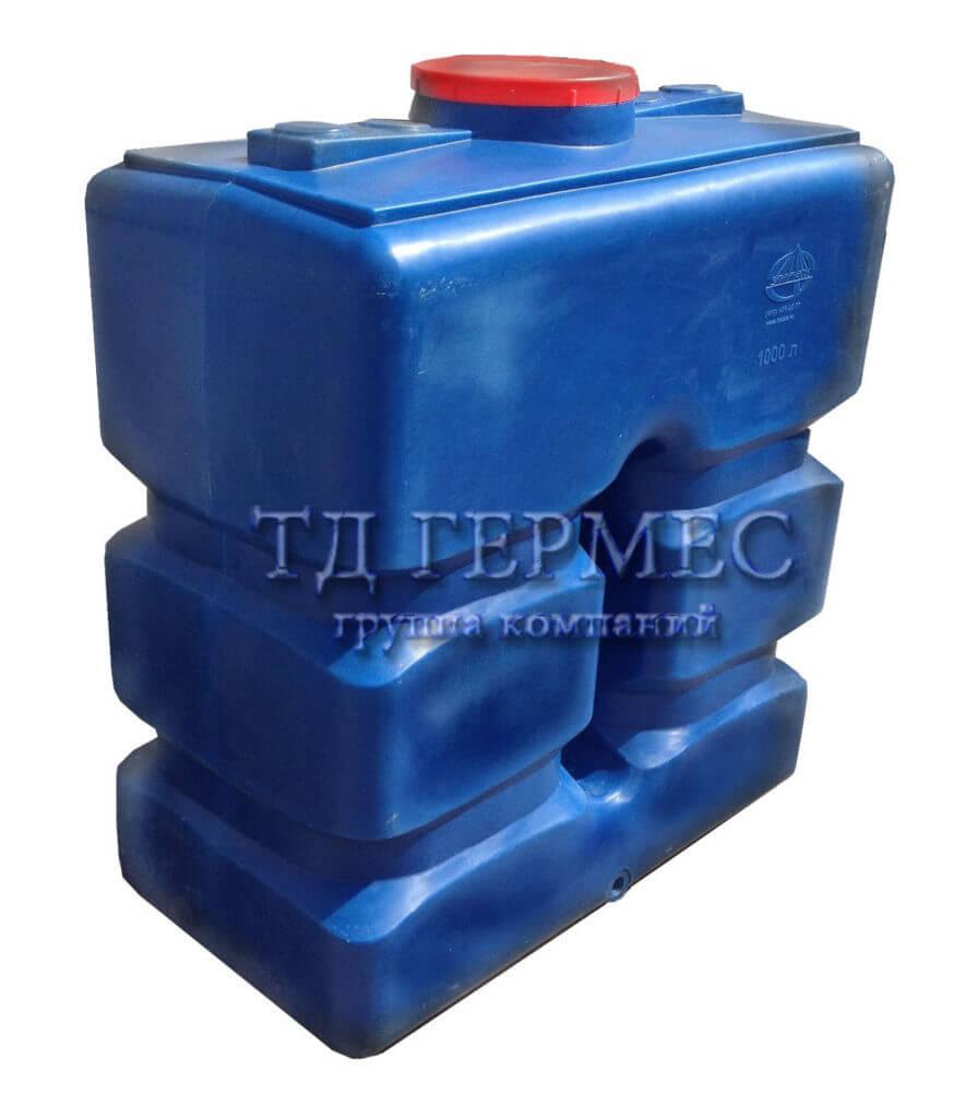 Емкость, бак для воды 1000 л (П1000) 1
