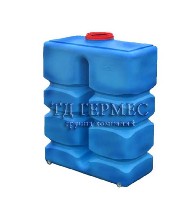 Емкость, бак для воды 1800 л (ПВ1800) 1