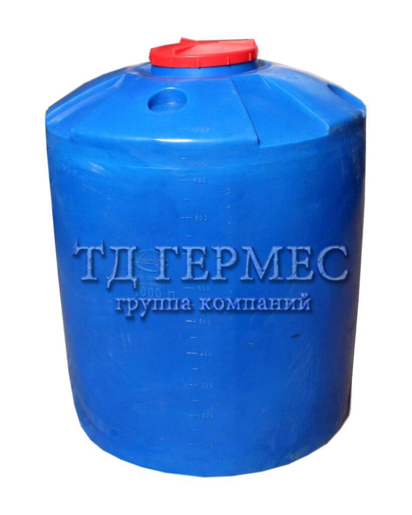 Емкость пластиковая 1000 л (Ц1000) 1
