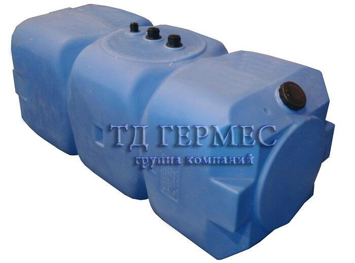 Бак топливный 800 л горизонтальный (Т800ГКЗ) 1