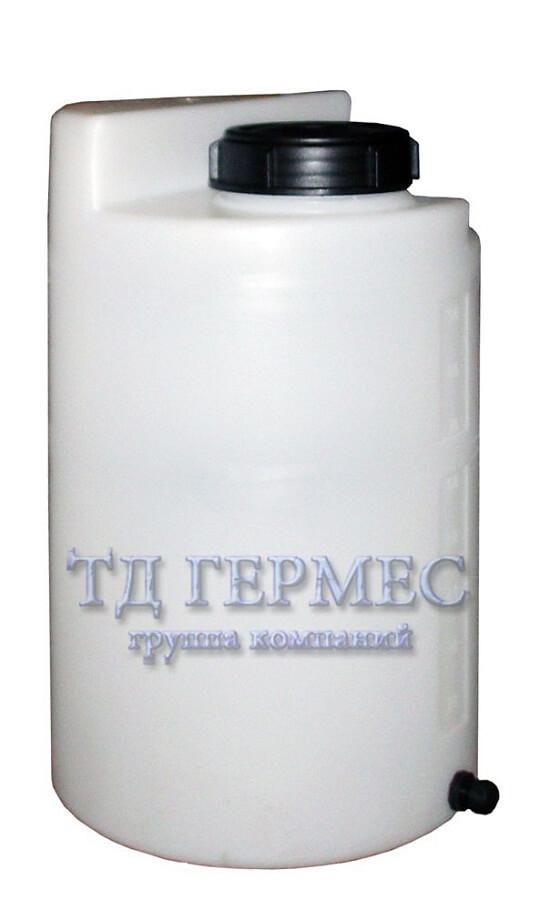 Пластиковый бак 100 л для дозирующих станций (ДК100КЗ) 1