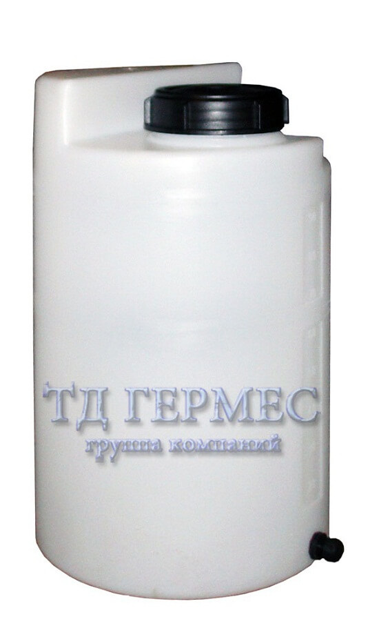 Пластиковый бак 200 л для дозирующих станций (ДК200КЗ) 1