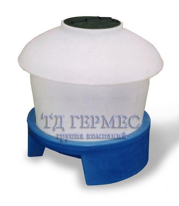 Пластиковый бак 390 л с подставкой (390ГП) 1