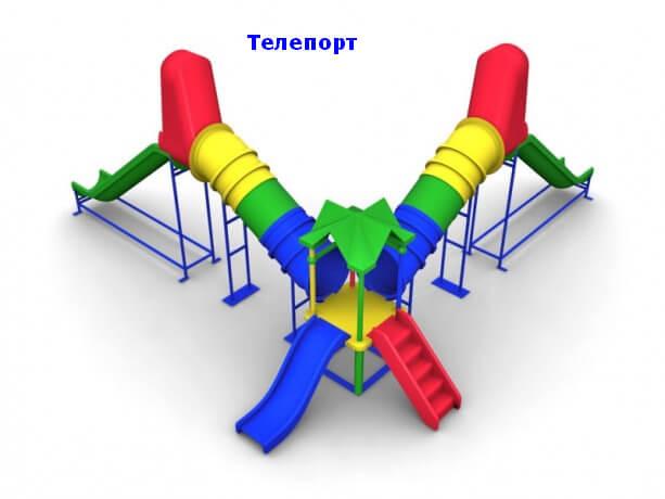 Детский игровой комплекс «Телепорт» 1