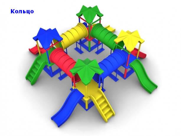 Детский игровой комплекс «Кольцо» 1