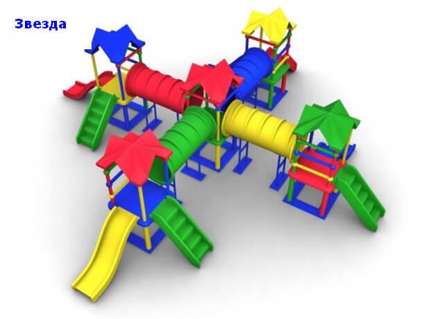 Детский игровой комплекс «Звезда» 1