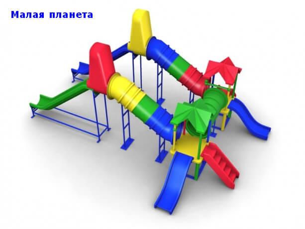 Детский игровой комплекс «Малая планета» 1