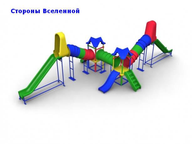 Детский игровой комплекс «Стороны Вселенной» 1