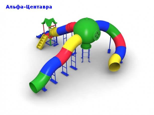 Детский игровой комплекс «Альфа-Центавра» 1