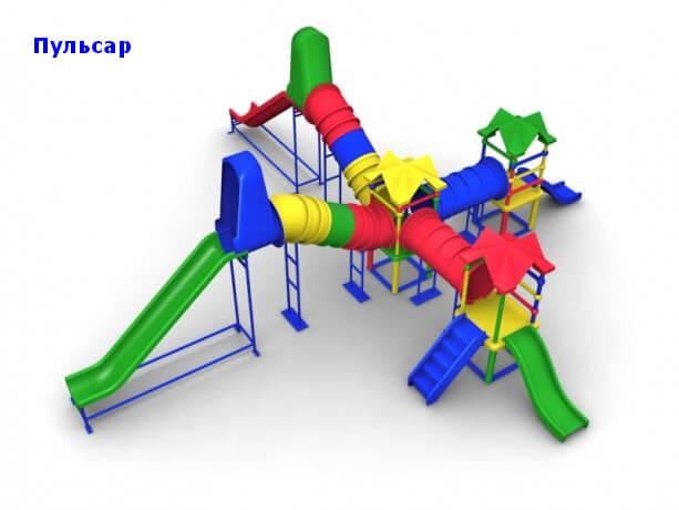 Детский игровой комплекс «Пульсар» 1