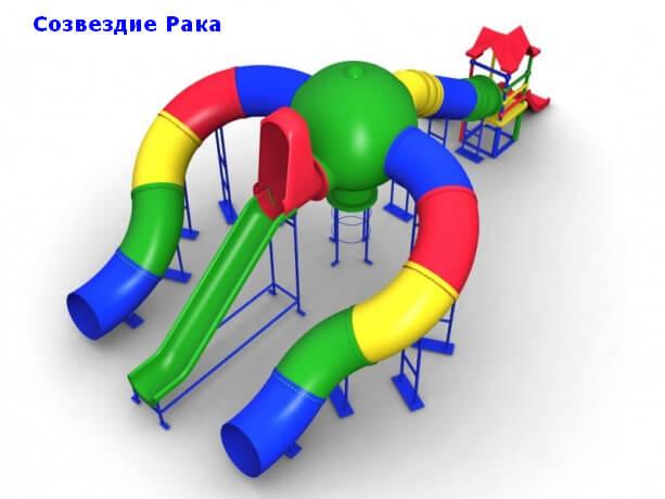 Детский игровой комплекс «Созвездие Рака» 1