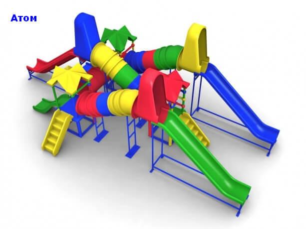 Детский игровой комплекс «Атом» 1