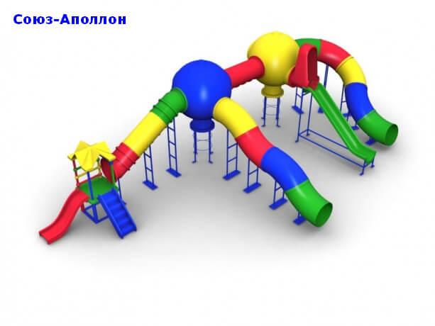Детский игровой комплекс «Союз-Аполлон» 1