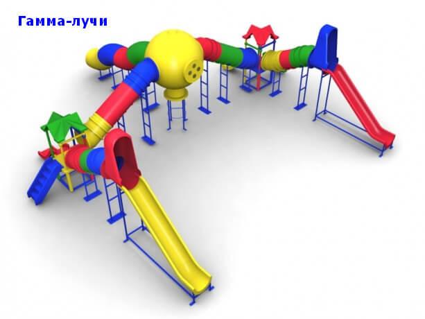 Детский игровой комплекс «Гамма-лучи» 1