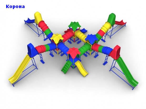 Детский игровой комплекс «Корона» 1