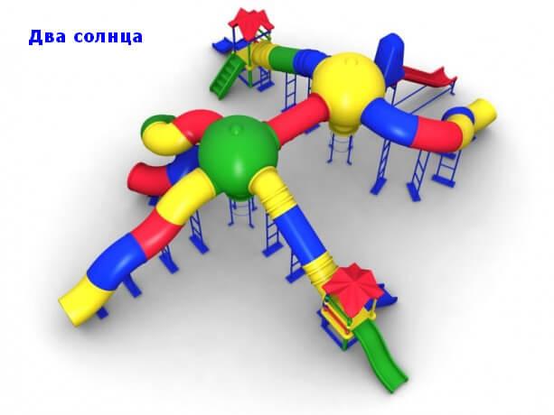 Детский игровой комплекс «Два Солнца» 1