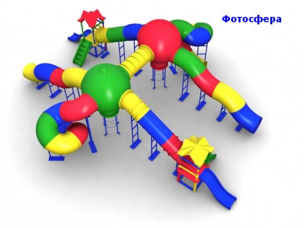 Детский игровой комплекс «Фотосфера» 1