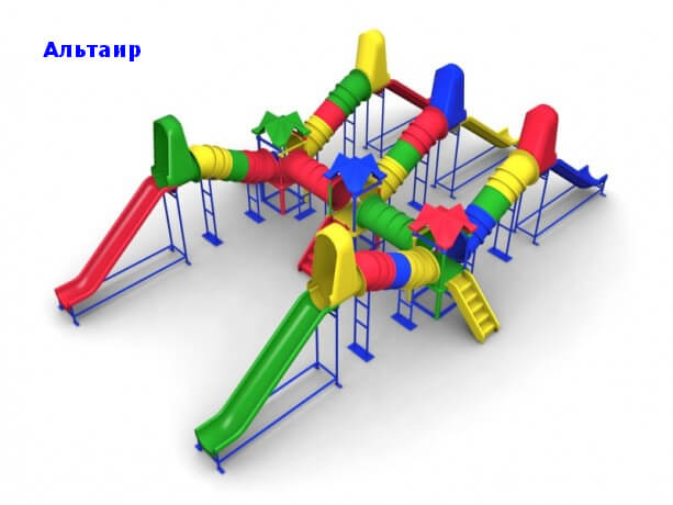 Детский игровой комплекс «Альтаир» 1