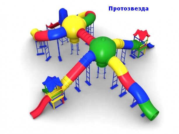 Детский игровой комплекс «Протозвезда» 1