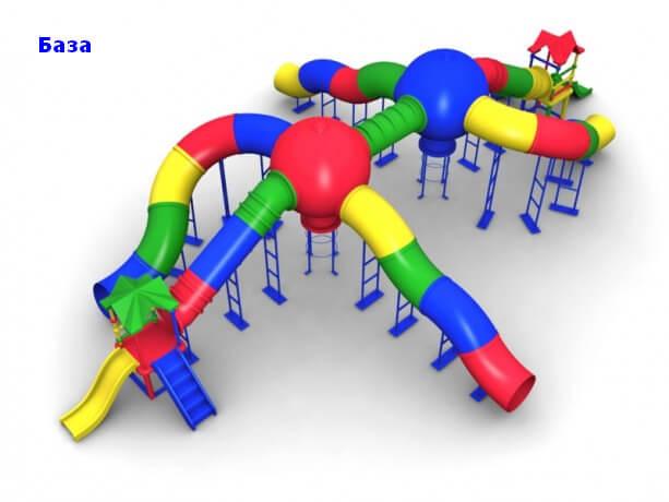 Детский игровой комплекс «База» 1
