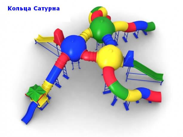 Детский игровой комплекс «Кольца Сатурна» 1