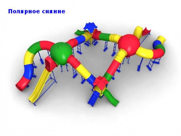 Детский игровой комплекс «Полярное сияние» 1