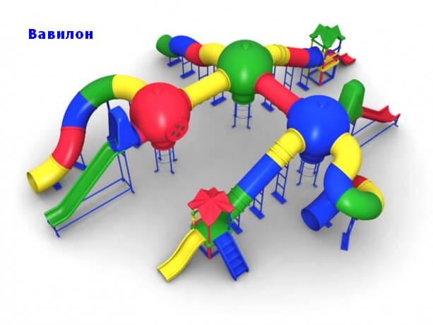 Детский игровой комплекс «Вавилон» 1