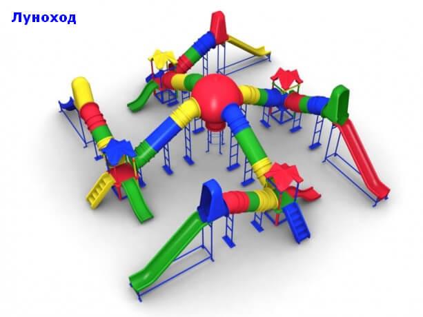Детский игровой комплекс «Луноход» 1