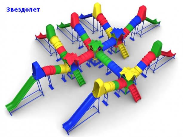 Детский игровой комплекс «Звездолет» 1