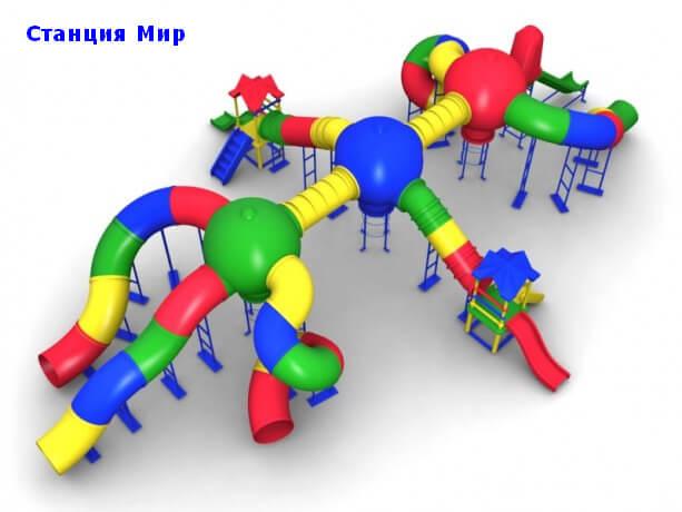 Детский игровой комплекс «Станция МИР» 1
