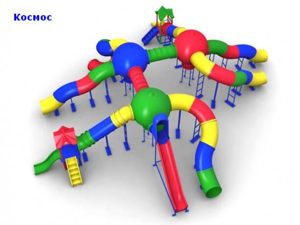 Детский игровой комплекс «Космос» 1