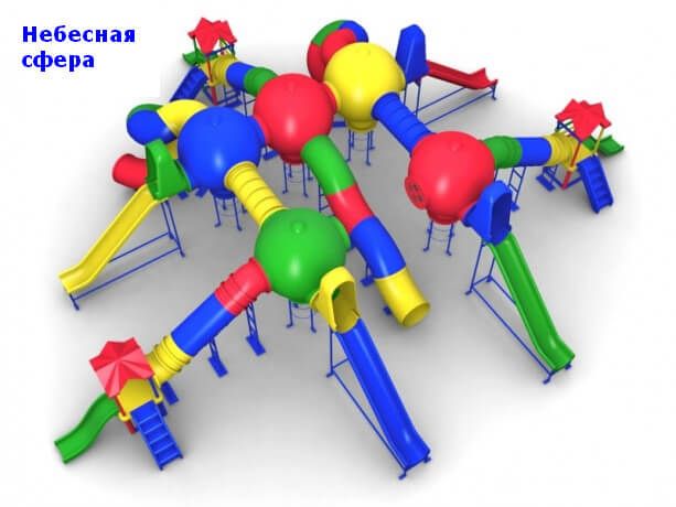 Детский игровой комплекс «Небесная сфера» 1