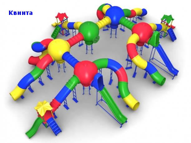 Детский игровой комплекс «Квинта» 1