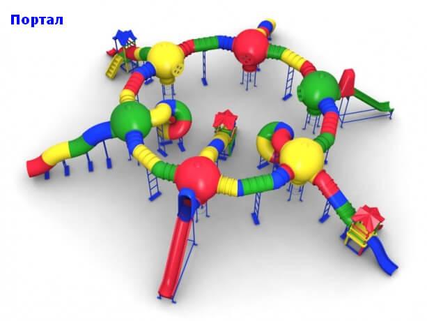 Детский игровой комплекс «Портал» 1