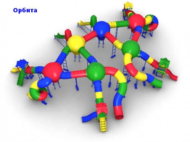 Детский игровой комплекс «Орбита» 1