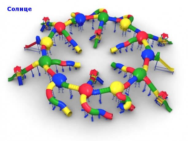 Детский игровой комплекс «Солнце» 1