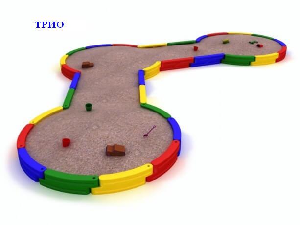 Песочница «Трио» 1