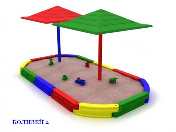 Песочница «Колизей-2» 1
