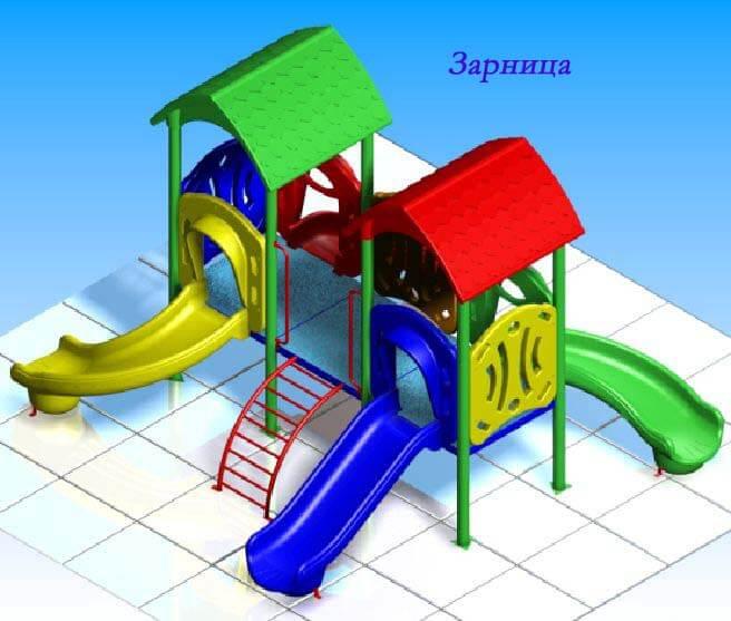 Детский игровой комплекс «Зарница» 1