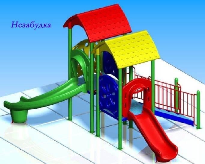 Детский игровой комплекс «Незабудка» 1