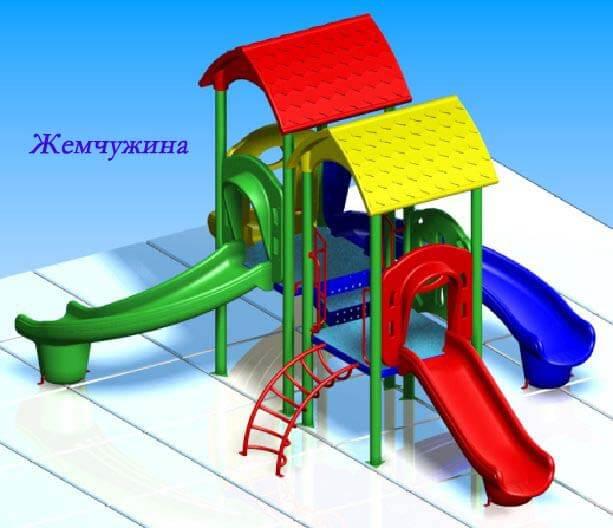 Детский игровой комплекс «Жемчужина» 1