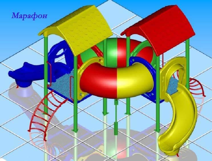 Детский игровой комплекс «Марафон» 1
