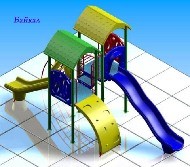 Детский игровой комплекс «Байкал» 1