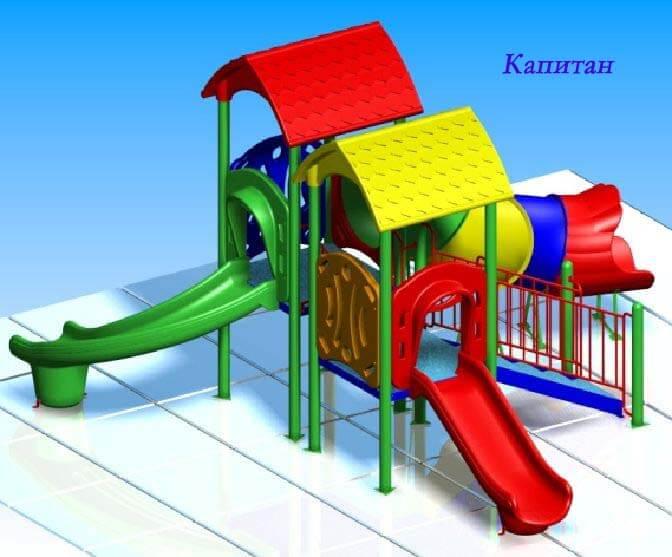 Детский игровой комплекс «Капитан» 1