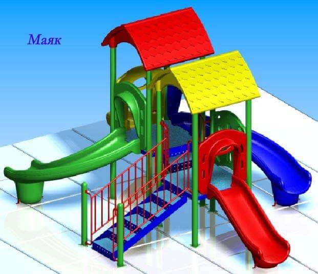 Детский игровой комплекс «Маяк» 1